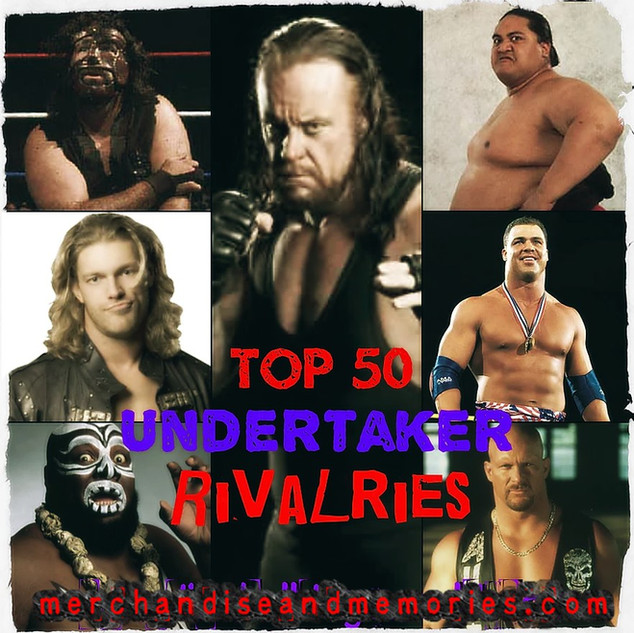 Top 50 Undertaker Rivalries
