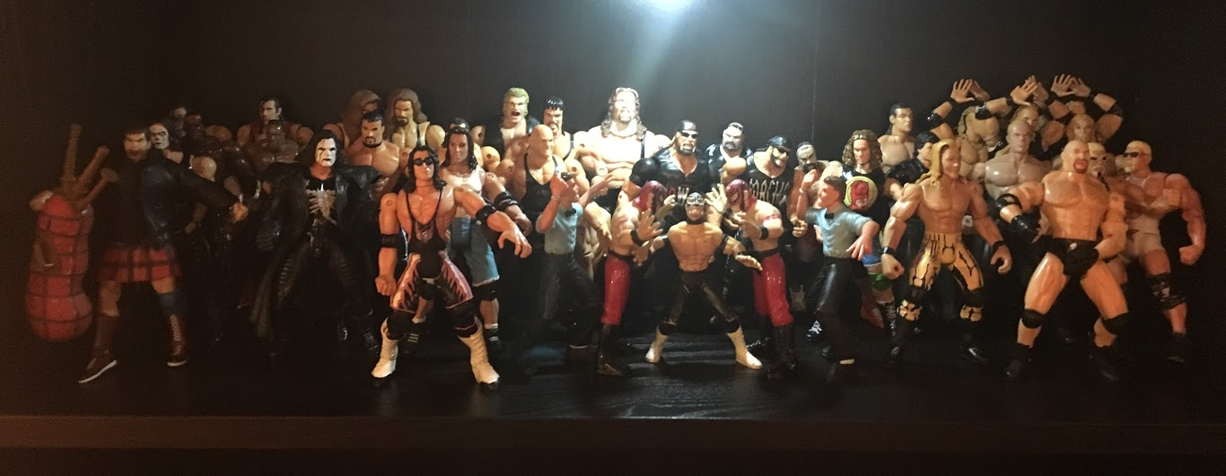 I've Seriously Upgraded My WCW Toy Biz Collection