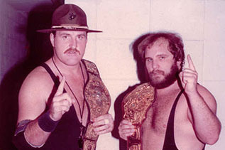 Sgt Slaughter and Don Kernodle