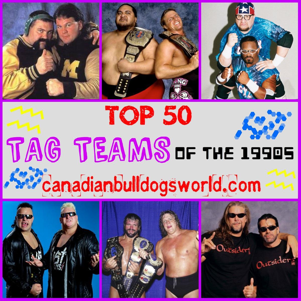 Top 50 Tag Teams Of The 1990s