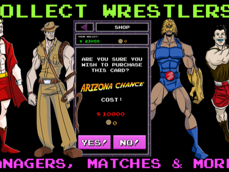 The Grappling Gamer: 80s Wrestling Mania Returns