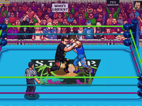 The Grappling Gamer: RetroMania Wrestling