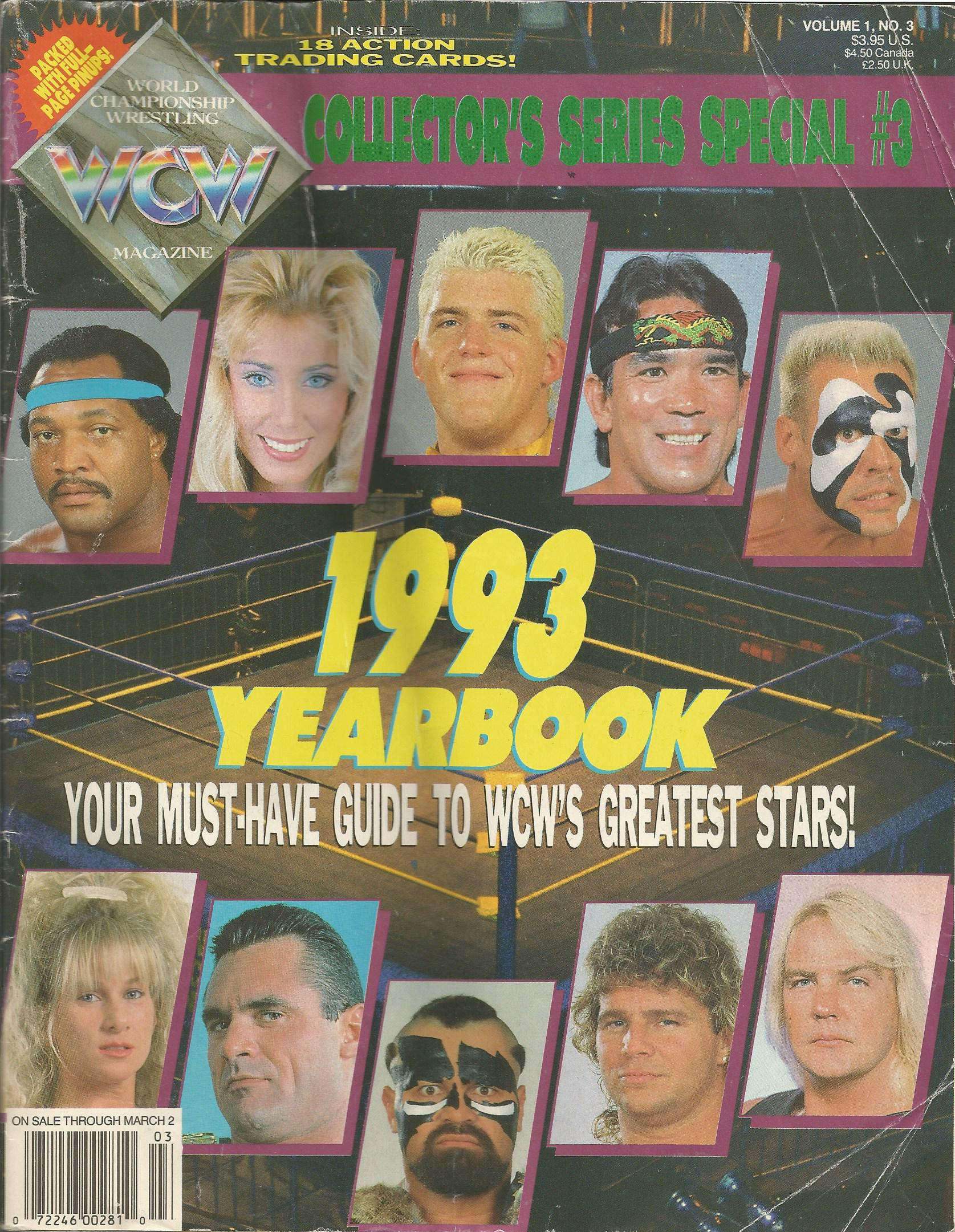 WCW 1993 Yearbook