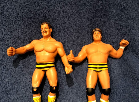Canadian Bulldog's World LJN Wrestling Figure Hall of Fame: The Killer Bees