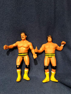 Canadian Bulldog's World LJN Wrestling Figure Hall of Fame: The Killer Bees