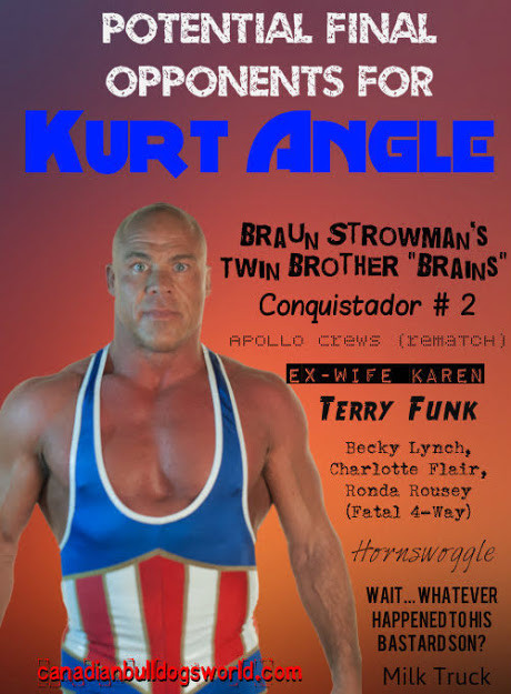 Potential Opponents for Kurt Angle