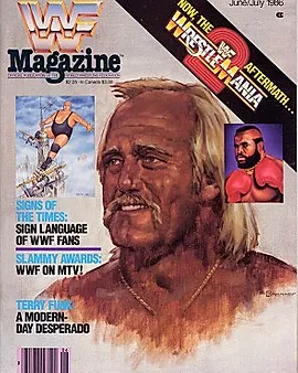 My First WWF Magazine