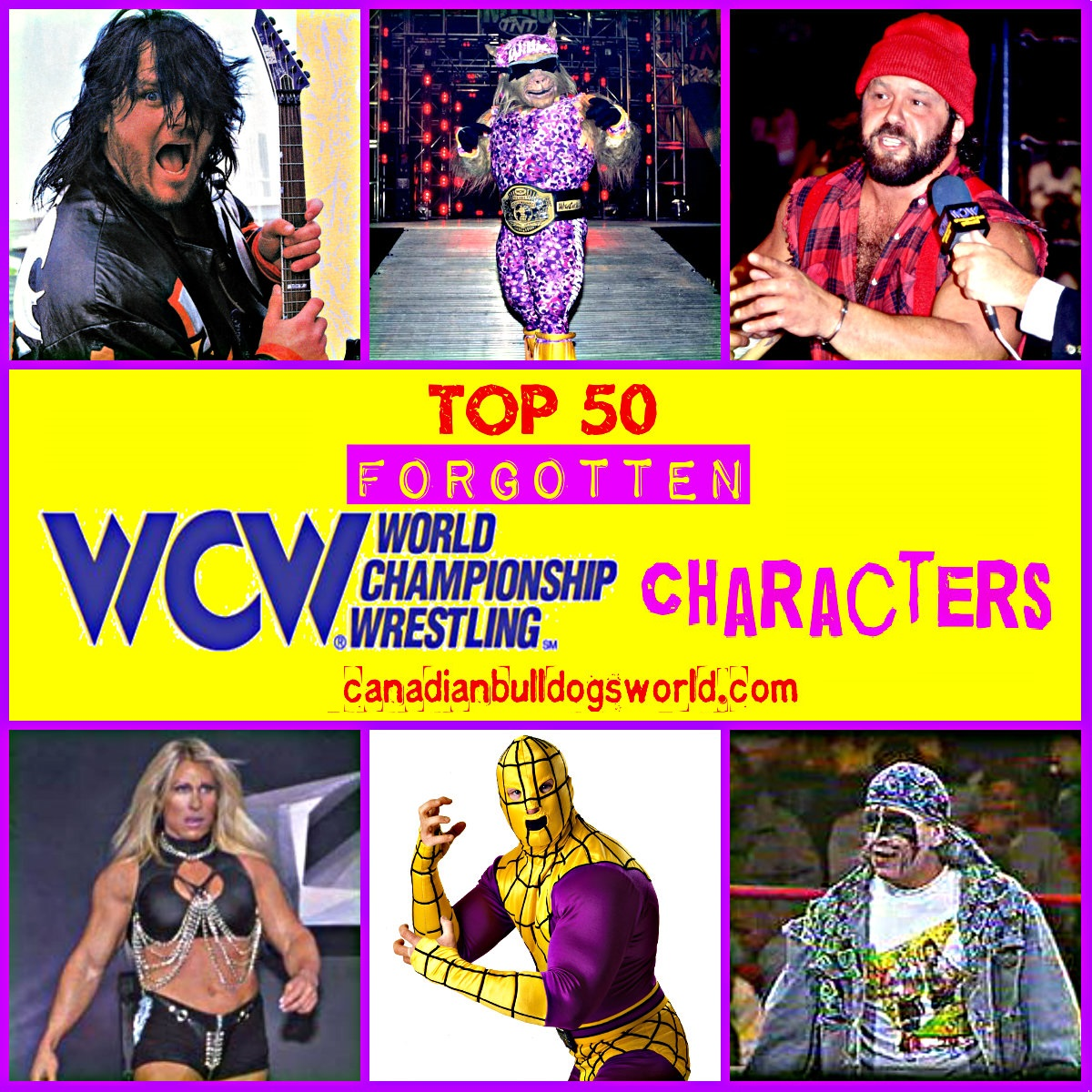 Top 50 Forgotten WCW Characters