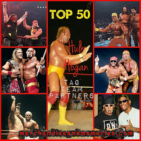 Top 50 Hulk Hogan Tag Team Partners