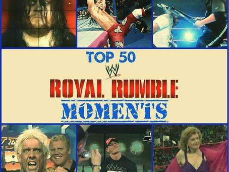 Top 50 Royal Rumble Moments