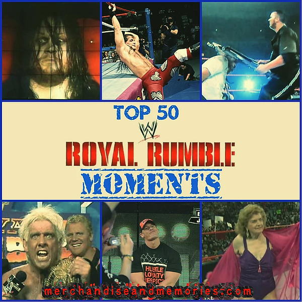 Top 50 Royal Rumble Moments
