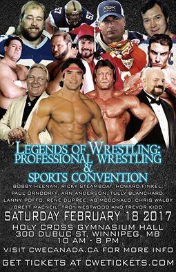 Legends Of Wrestling convention