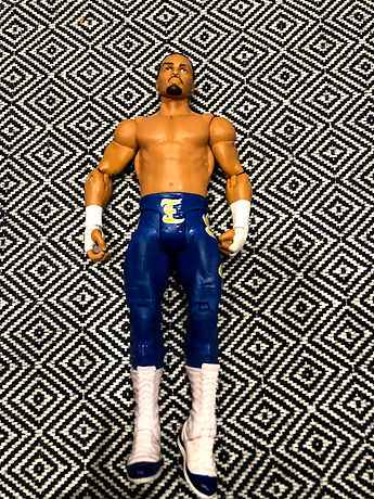 Five Random Wrestling Figures