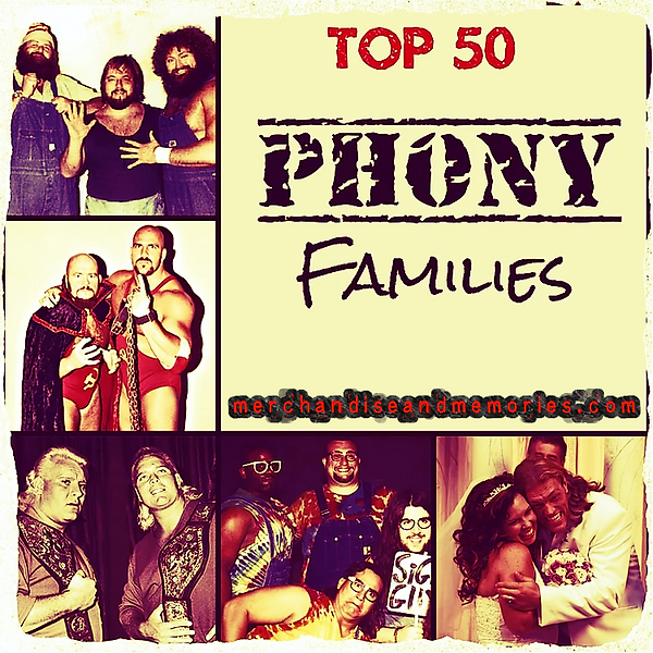 Top 50 Phony Families