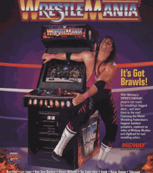 The Grappling Gamer: WrestleMania - The Arcade Game