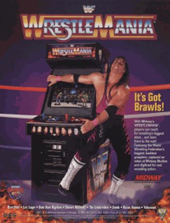 WrestleMania (Arcade)