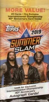 Card Corner: WWE Topps SummerSlam (2019)