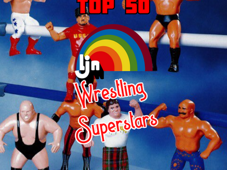 Top 50 LJN Wrestling Superstars