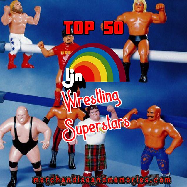 Top 50 LJN Wrestling Superstars