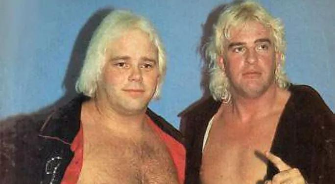 Buddy Rose and Doug Somers