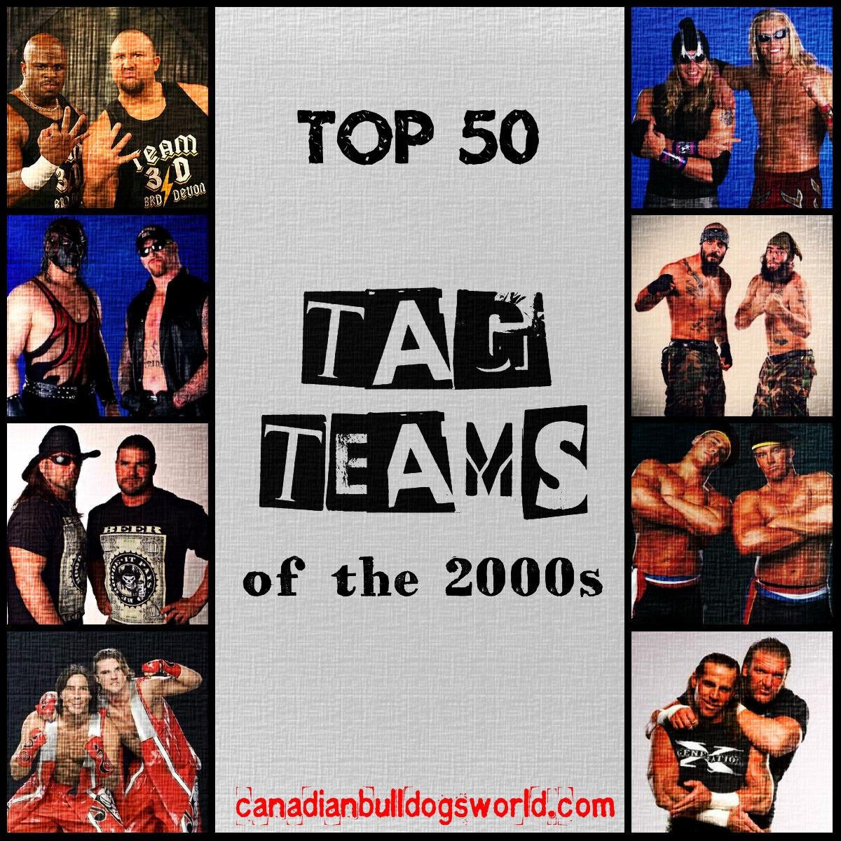 Top 50 Tag Teams of the 2000s