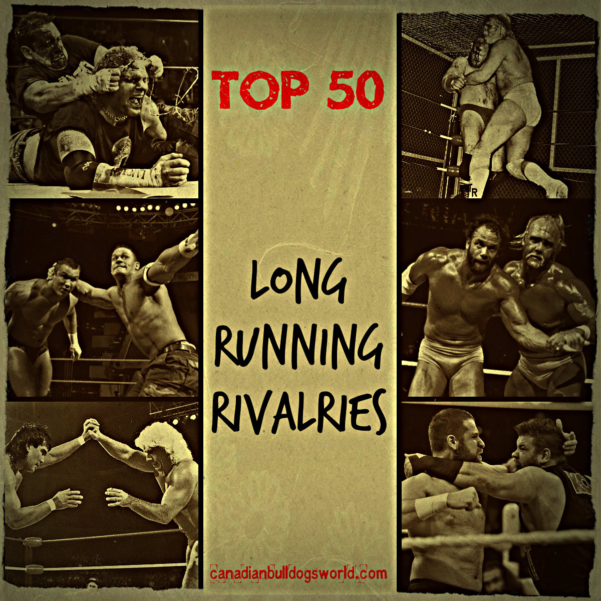 Top 50 Long Running Rivalries
