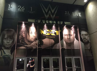 NXT TakeOver: Toronto Notebook