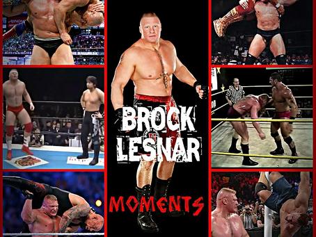 Top 50 Brock Lesnar Moments