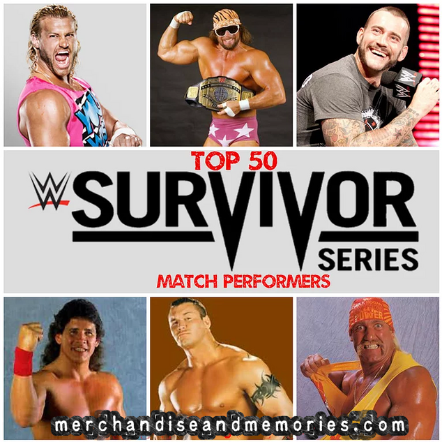 Top 50 Survivor Series Match Performers