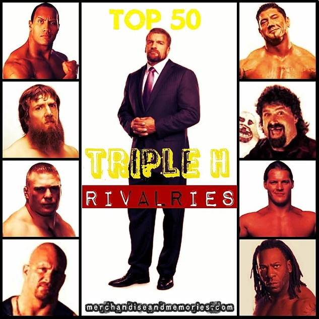 Top 50 Triple H Rivalries