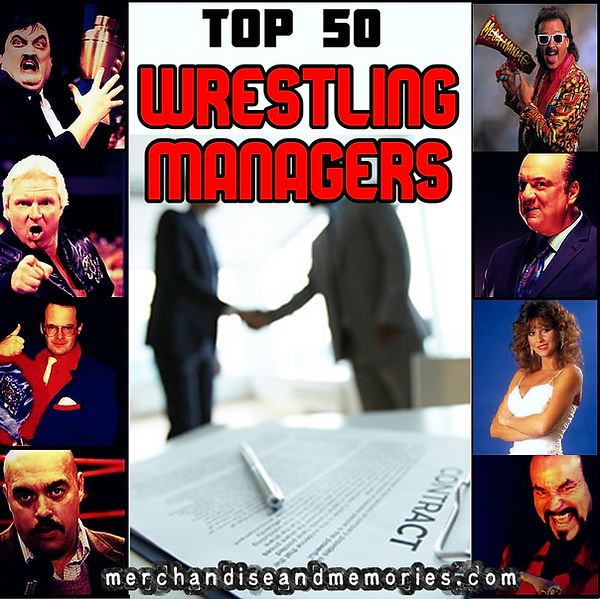 Top 50 Wrestling Managers