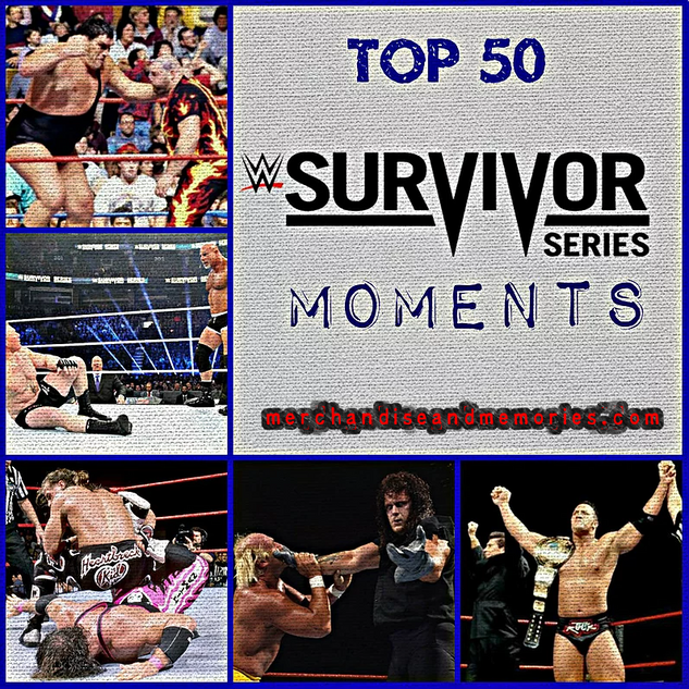 Top 50 Survivor Series Moments
