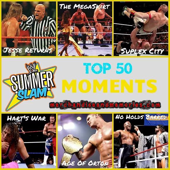 Top 50 SummerSlam Moments