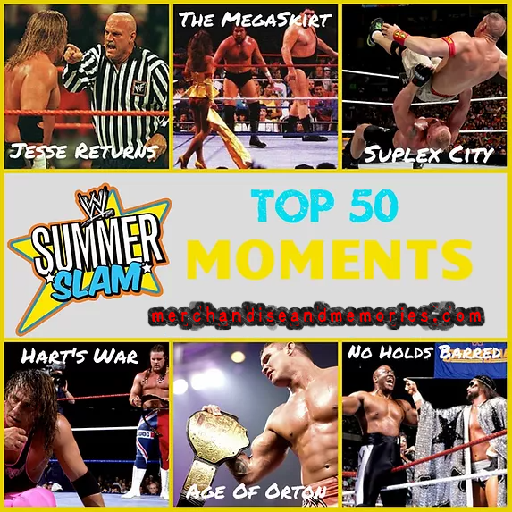 Top 50 SummerSlam Moments