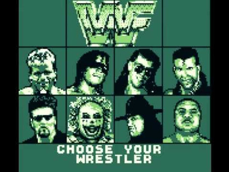 The Grappling Gamer: WWF Raw (Game Boy)