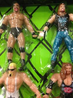 WCW Bend 'n' Flex Figures
