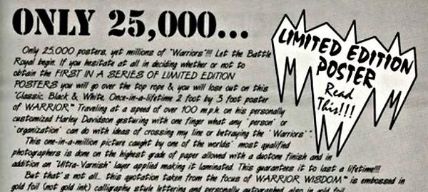 Remembering The Ultimate Warrior's Batsh