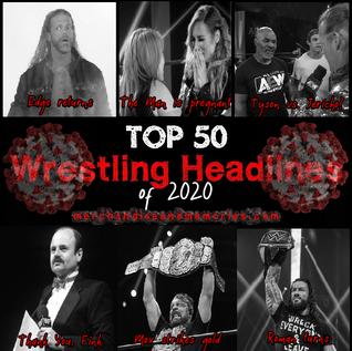 Top 50 Wrestling Headlines of 2020