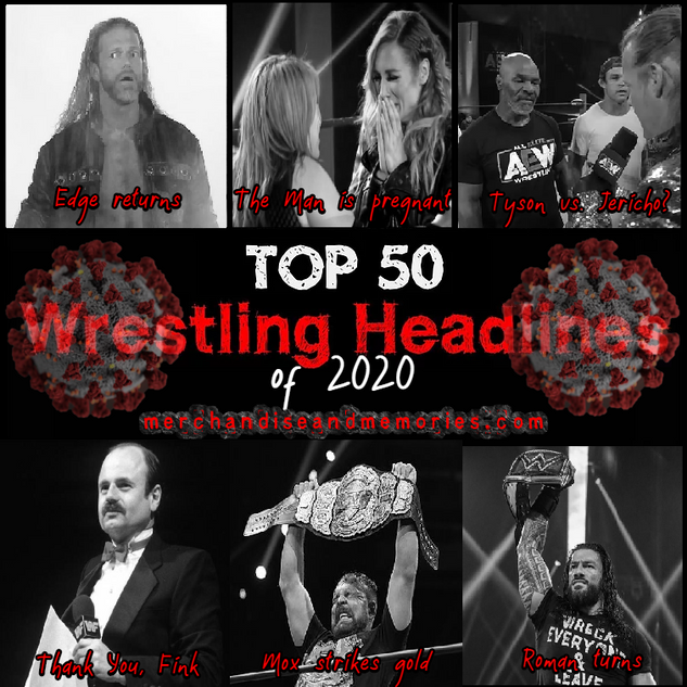 Top 50 Wrestling Headlines of 2020