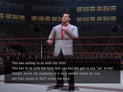 Mr McMahon