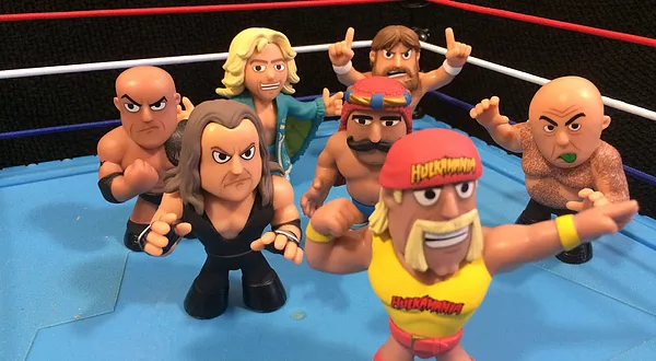 WWE Mystery Minis