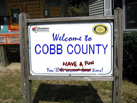 (BEST OF BULLDOG) Cobb County, Georgia Trying To Rehabilitate Image After Whole 'Hard Time' Thing