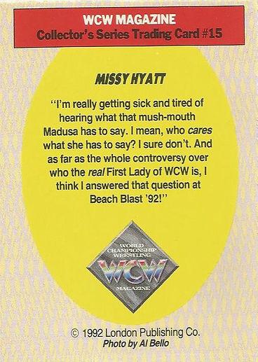 Missy Hyatt card