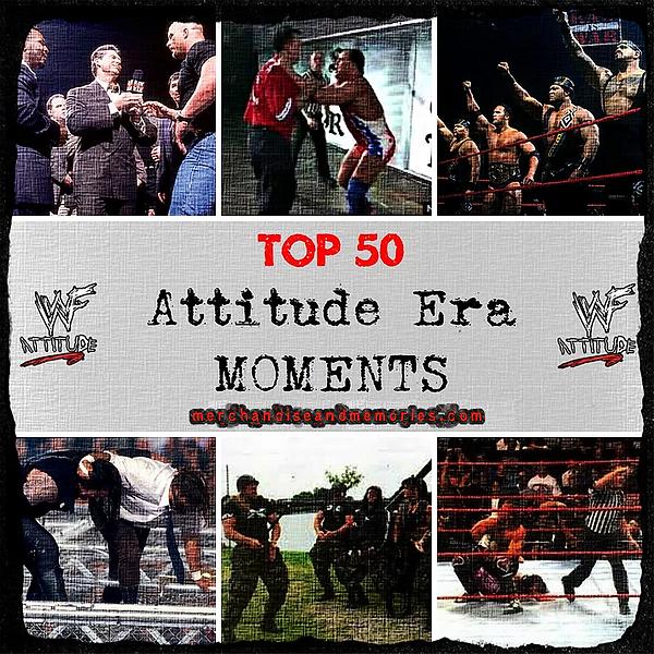 Top 50 Attitude Era Moments
