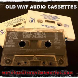 Old WWF Audio Cassettes