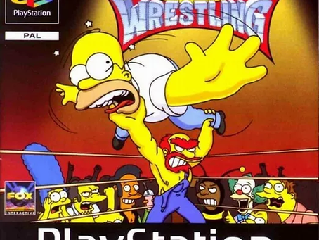 The Grappling Gamer: The Simpsons Wrestling
