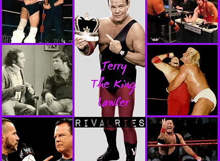 Top 50 Jerry The King Lawler Rivalries