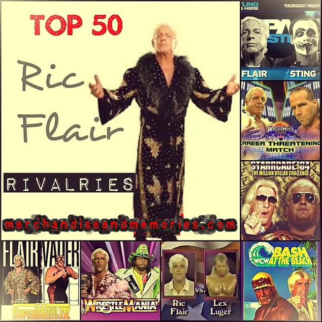 Top 50 Ric Flair Rivalries
