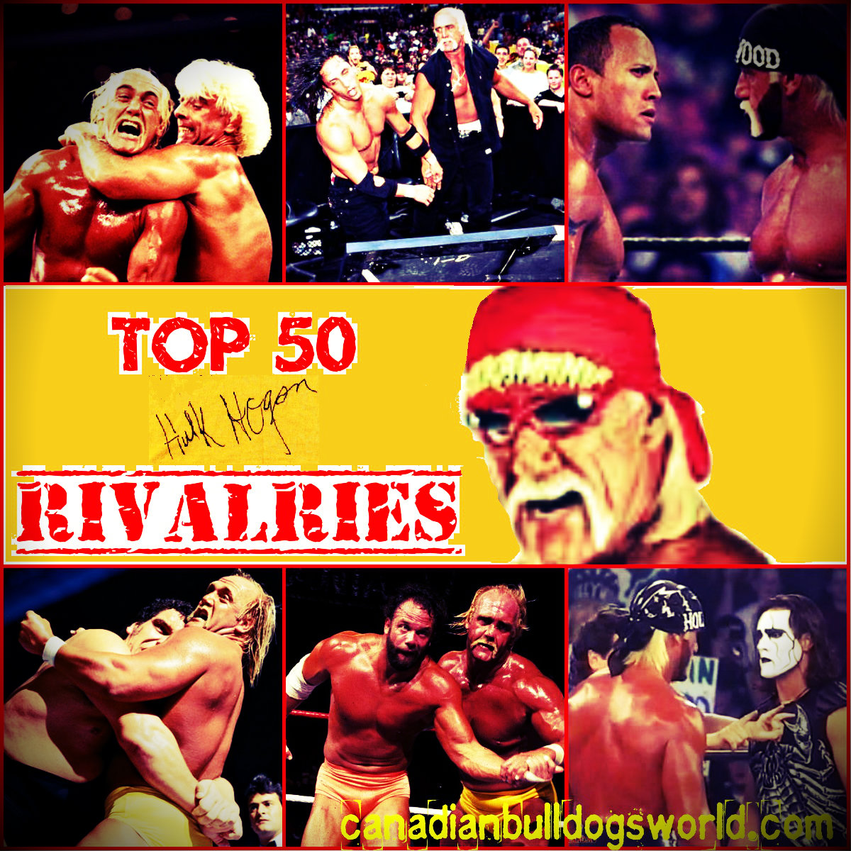 Top 50 Hulk Hogan Rivalries