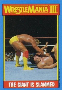 1987 WWF Topps Trading Cards